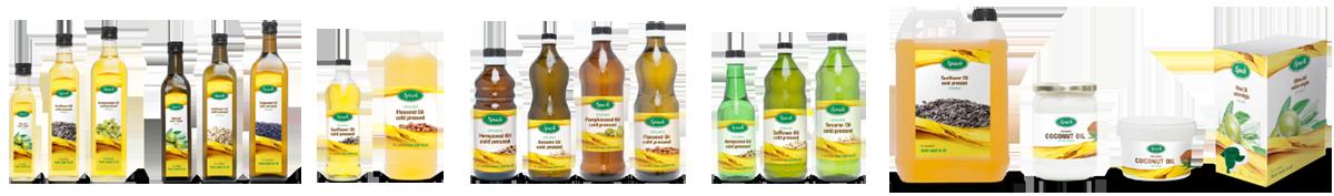 Spack – biologische olie, plantaardige olie