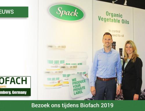 Bezoek ons tijdens Biofach 2019