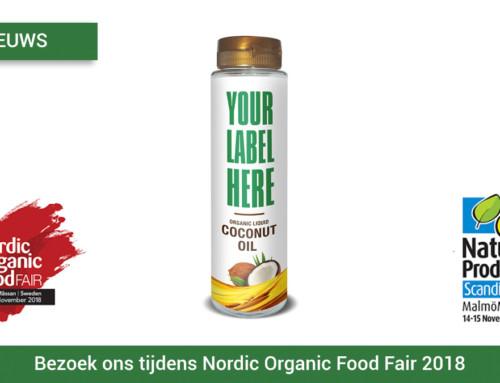 Bezoek ons tijdens Nordic Organic Food Fair 2018