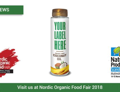 Visit us at Nordic Organic Food Fair 2018