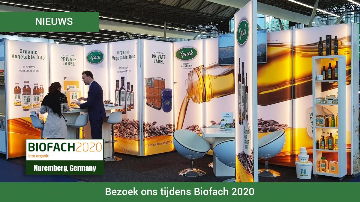 Bezoek Spack Oils tijdens Biofach 2020 Duitsland