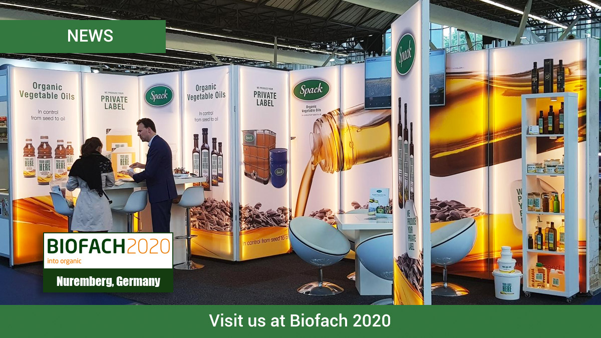 Visit Spack Oils at Biofach 2020 in Germany