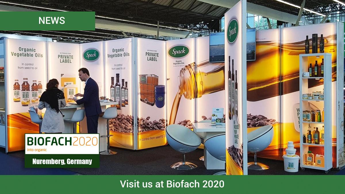Visit Spack Oils at Biofach 2020 in Germany