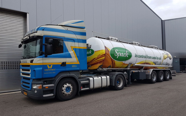 Spack BV vrachtwagen